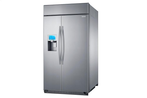 RS27FDBTNSR Side-by-Side Refrigerator with Twin Cooling Plus, 26.5 cu.ft