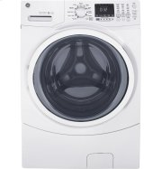 GE® 4.5 DOE cu. ft. Capacity Front Load ENERGY STAR® Washer with Steam Product Image