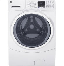 GE® 4.5 DOE cu. ft. Capacity Front Load ENERGY STAR® Washer with Steam  MATCHING DRYER #GFD45ESSMWW