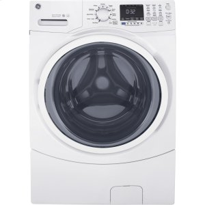 ®4.5 cu. ft. Capacity Front Load ENERGY STAR® Washer with Steam - WHITE ON WHITE