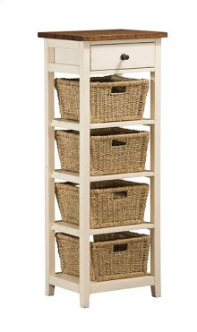 Tuscan Retreat® 4 Basket Stand - Country White