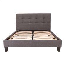 Eliza Bed Double Dark Grey