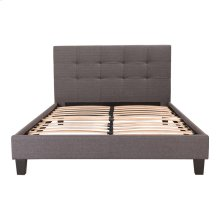 Eliza Bed Double Dark Grey