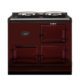 Claret 2-Oven AGA Cooker (electric) Electric fuelled cast-iron cooker