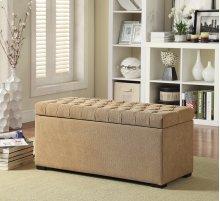 Sahara Tufted Storage Bench (shultz Nugget Fabric)