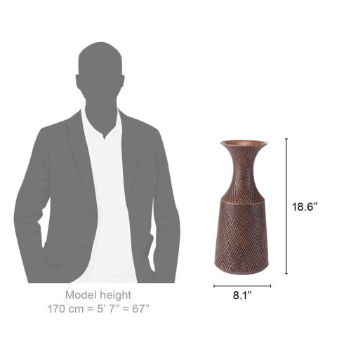 Brown Poly Bottle Medium