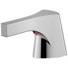 Chrome Metal Lever Handle Set - Lavatory or Bidet