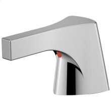 Chrome Metal Lever Handle Set - Bathroom or Bidet