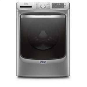 MaytagMaytag(R) Front Load Washer with Extra Power and 24-Hr Fresh Hold(R) option - 5.0 cu. ft. - Metallic Slate