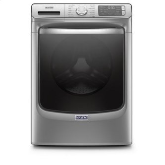 Maytag(R) Front Load Washer with Extra Power and 24-Hr Fresh Hold(R) option - 5.0 cu. ft. - Metallic Slate