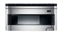 1.5 cu. ft. 1000W Sharp Stainless Steel Over-the-Range Carousel Microwave Oven (R-1514)