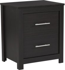 Lancaster Collection 2 Drawer Nightstand in Espresso Finish