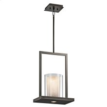 Triad Collection 1 Light Pendant  Olde Bronze
