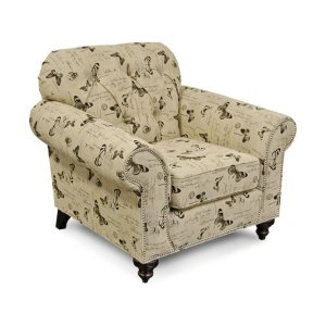 England Furniture Stacy Chair With Nails 5734n
