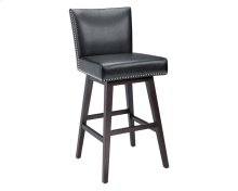 Vintage Swivel Barstool - Black