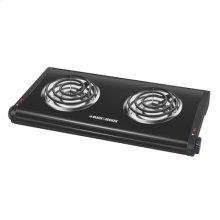 Double Burner Portable Buffet Range