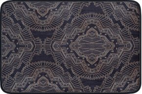 Luxor Home - LXH5103 Black Rug