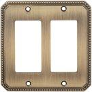Double Rocker Beaded Switchplate Product Image