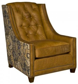 Melissa Leather/Fabric Chair