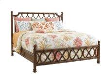 Island Breeze Rattan Bed Queen