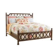 Island Breeze Rattan Bed Queen