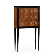 Ebony Bar Cabinet
