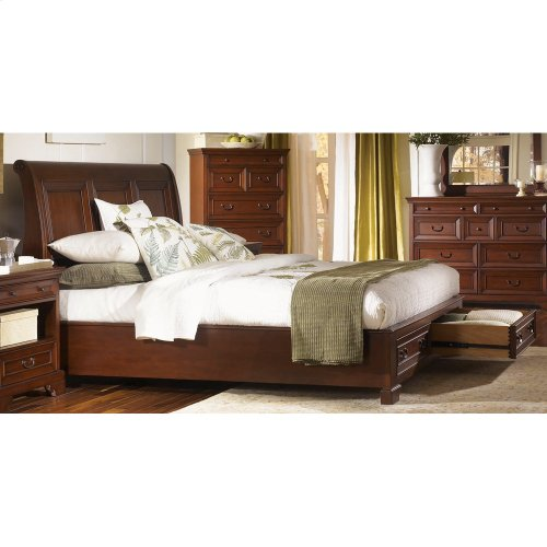 Queen Low Profile Storage Footboard