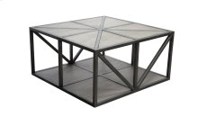 Cocktail Table, Available in Silver Pearl Finish Only