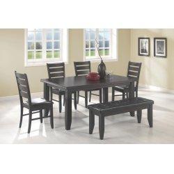 Dalila Cappuccino Rectangular Dining Table
