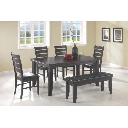 Dalila Cappuccino Rectangular Dining Table