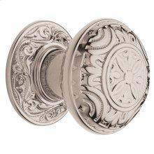 Polished Nickel with Lifetime Finish 5067 Estate Knob