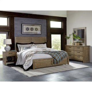 Salvage Loft Bedroom Set