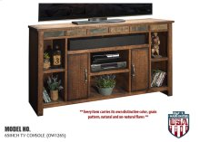"""Legends Old West 65in. TV Console - Width 65.44"""",  Height 37.12"""",  Depth 17.25"""""""
