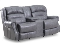 Giorgio Reclining Rocking Console Loveseat Product Image
