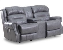 Giorgio Reclining Rocking Console Loveseat