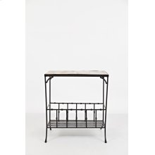 Global Archive Storage Chairside Table