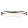 Verve Collection 2 Light Oval Ceiling Fluorescent  Olde Bronze