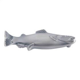 Fish Pull 3 Inch (c-c) - Pewter