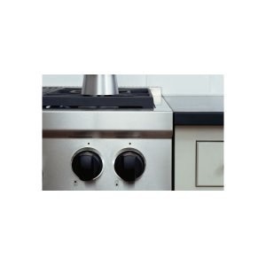 "Wolf30"" Gas Range Black Knobs"