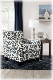Accent Chair/keendre/indigo