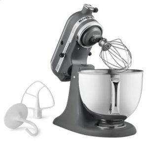 Artisan® Series 5 Quart Tilt-Head Stand Mixer - Matte Gray