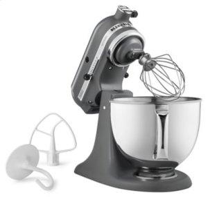 Artisan® Series 5 Quart Tilt-Head Stand Mixer - Matte Gray