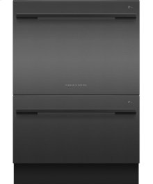 Double DishDrawer , 14 Place Settings, Sanitize (Tall)