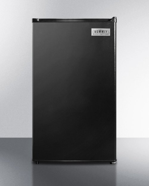 Energy Star Qualified Refrigerator-freezer With ADA Compliant Counter Height; Auto Defrost and Black Exterior