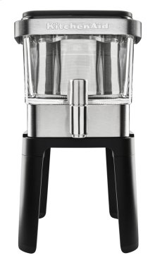 Exclusive Cold Brew Coffee Maker + Stand Bundle - Stainless Steel