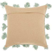"Life Styles Dp005 Celadon 18"" X 18"" Throw Pillows"
