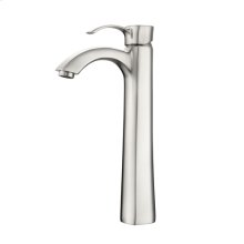 Elyria Single Handle Vessel Faucet - Brushed Nickel