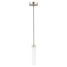 DXV Modulus LED Pendant Light - Platinum Nickel