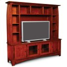 Aspen Deluxe Entertainment Center with Inlay, Aspen Deluxe Entertainment Center with Inlay Product Image