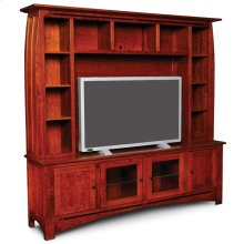 Aspen Deluxe Entertainment Center with Inlay, Aspen Deluxe Entertainment Center with Inlay, Base Only